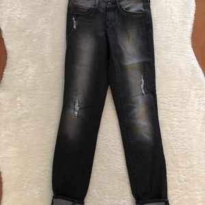 Articles of Society Black Distressed Skinny Jean